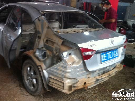 江淮和悦车身生锈问题高清图片